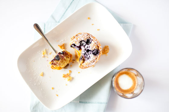 Food photography and styling, Sydney - Blueberry tart