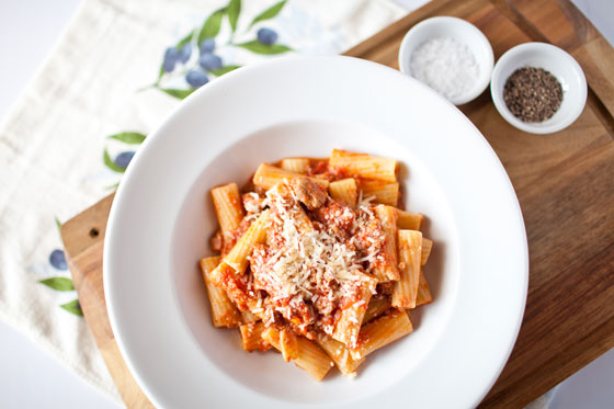 Food photography and styling, Sydney - Pasta