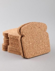 Toast coasters