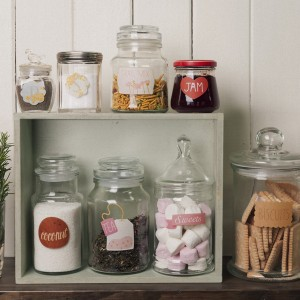 pantry labels by Love Mae