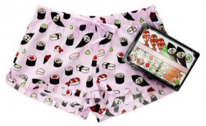 Sushi pattern pyjamas