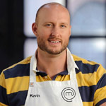 Masterchef Australia contestant, Kevin Perry