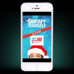 Santafy Yourself iPhone app