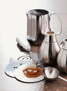 Coffee decorating set
