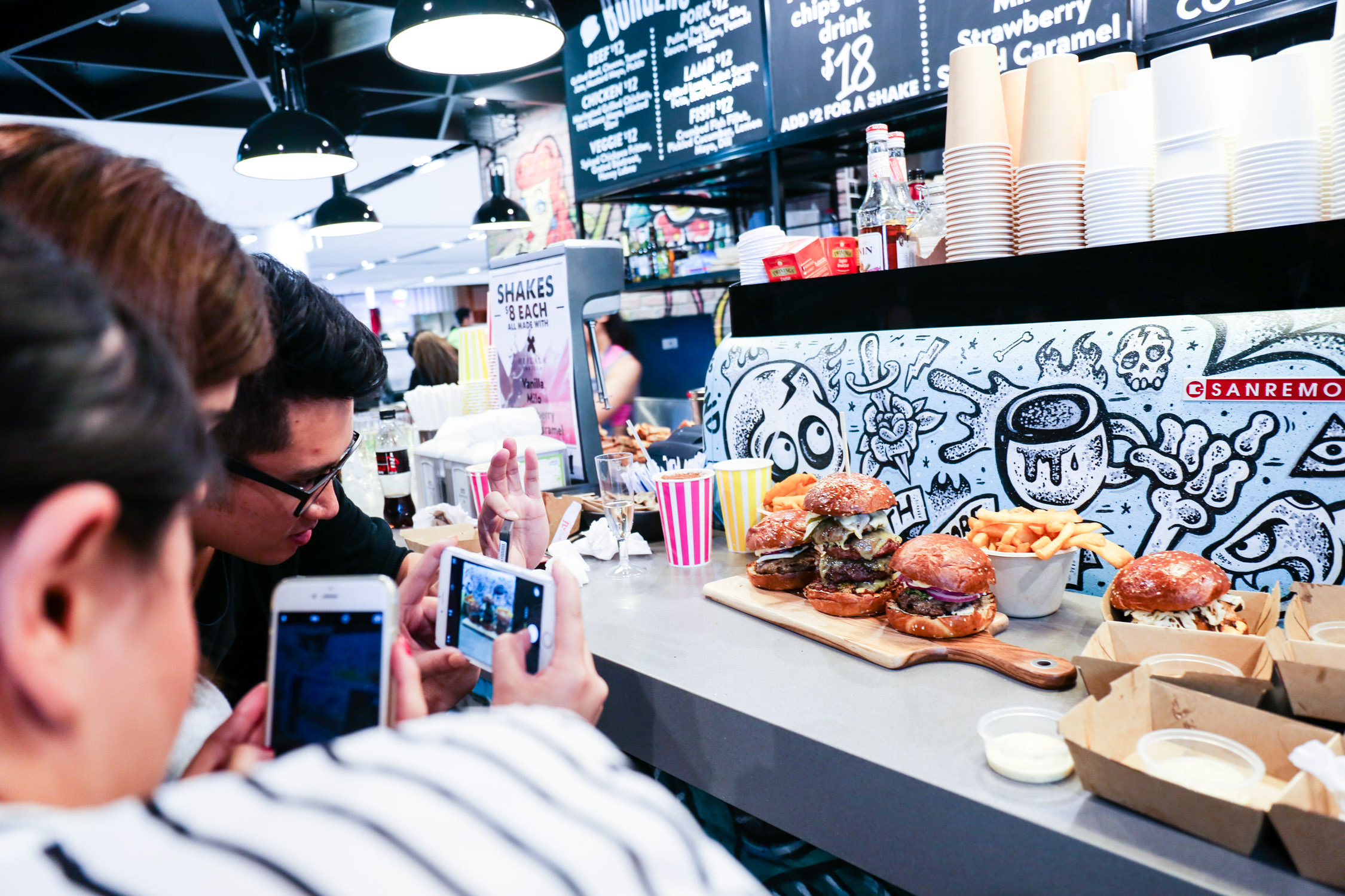 The Bamboo Garden hosted an exclusive launch event for influencers at the opening of Chur Burger Sydney Airport